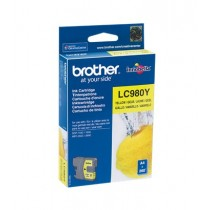 Tinta Brother LC980Y, Yellow, Brother, Original