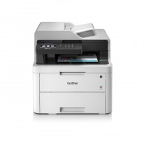 Brother MFC-L3730CDN, MFCL3730CDNYJ1, print, scan, copy, fax, ADF, duplex, laser, color, A4, USB, LAN, 4-bojni, bijela, 24mj