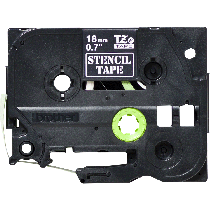 Brother STE141 Stencil Tape Cassette – Black, 18mm wide, Crna, Traka 18 mm, 18mm x 3m, Original