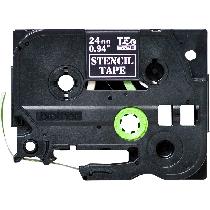 Brother STE151 Stencil Tape Cassette – Black, 24mm wide, Crna, Traka 24 mm, 24mm x 3m, Original