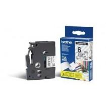 Brother TZE111 Labelling Tape Cassette – Black on Clear, 6mm wide, Prozirna, boja ispisa: Crna, Traka 6 mm, 6mm x 8m, Original