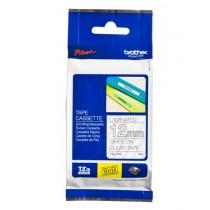 Brother TZE135 Labelling Tape Cassette – White On Clear, 12mm wide, Prozirna, boja ispisa: Bijela, Traka 12 mm, 12mm x 8m, Original