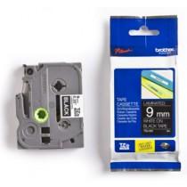Brother TZE325 Labelling Tape Cassette – White on Black, 9mm wide, Crna, boja ispisa: Bijela, Traka 9 mm, 9mm x 8m, Original