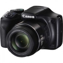 Canon PowerShot SX540 HS, crna, 20.3Mpx, 50x opt. 24-1200mm f3.4-6.5, WL, 12mj