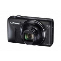 "Canon PowerShot SX SX600 HS, crna, 16Mpx, IS Pomična leća, 18x opt. 25-450mm f3.8-6.9, 3"" LCD,  ISO 3200,  Video FullHD, Baterija LiIon, WL, 12mj"