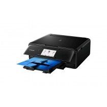 Canon Pixma TS8150, print, scan, copy, duplex, CD Print, tintni, color, A4, USB, WL, Bt, 6-bojni, crna, 12mj