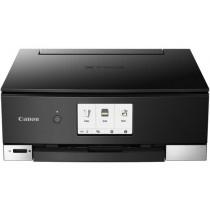 Canon Pixma TS8250, print, scan, copy, duplex, CD Print, tintni, color, A4, USB, WL, 6-bojni, crna, 12mj, (2987C006AA)