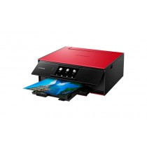 Canon Pixma TS9155, print, scan, copy, duplex, CD Print, tintni, color, A4, USB, LAN, WL, Bt, 6-bojni, crvena, 12mj