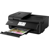 Canon Pixma TS9550, 2988C006AA, print, scan, copy, ADF, CD Print, tintni, color, A3, USB, LAN, WL, 4-bojni, crna, 12mj