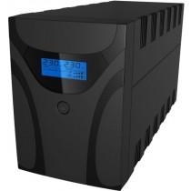 UPS C-Lion 1200VA, Aurora Vista+, 1200, 600W, Line Interactive, crna, 12mj, (9E66-63036EO1-00)