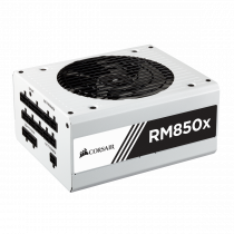 Jedinica napajanja Corsair 850W RMx White Series RM850x, ATX, 135mm, 80 plus Gold, Modularno, 36mj (CP-9020156-EU)