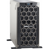 "Server Dell PowerEdge T340, S0229, 1x Intel Xeon E-2234 bez HDD 3.5"" LFF 8x, 1x 480GB SSD, PERC H330, 16GB, 2x 495W RPS, Tower, 36mj"
