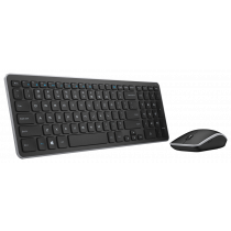 Tipkovnica Dell KM714 Keyboard and Mouse Wireless, USB wireless, crna, 12mj, (580-18381)