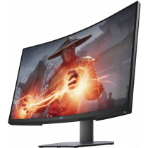 "Monitor Dell 32"", S3220DGF, 2560x1440, VA, zakrivljen, Lift, crna, Freesync, 36mj"