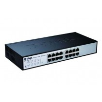 D-Link DES-1100-16, Switch upravljivi 16-port, 10/100Mbps, 802.1Q VLAN, 802.1p QoS, Port mirroring