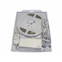 EcoVision LED fleksibilna traka 5m IP67, Crvena, Komplet, 12V DC (SF8A-R30WT-A1-blister)