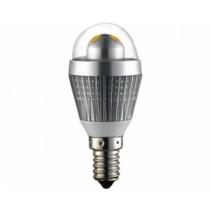 Žarulja EcoVision LED E14 kugla, 3W, 2700K, topla-bijela, dimmable, srebrna (NT-BU-001001)