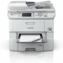 Epson WF-6590DWF, C11CD49301, print, scan, fax, duplex, tintni, color, A4, USB, LAN, WL, 4-bojni, bijela, 12mj