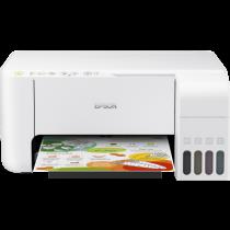 Epson L3156, print, scan, copy, tintni, color, A4, USB, WL, 4-bojni, bijela, 12mj, (C11CG86413)