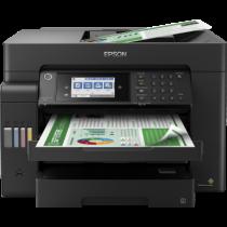 Epson L15150, print, scan, copy, fax, ADF-D, duplex, tintni, color, A3+, USB, LAN, WL, 4-bojni, crna, 12mj, (C11CH72402)