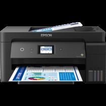 Epson L14150, print, scan, copy, fax, duplex, tintni, color, A3+, USB, LAN, WL, 4-bojni, crna, 24mj, (C11CH96402)