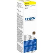 Tinta Epson T6734, yellow, žuta L800 (C13T67344A)