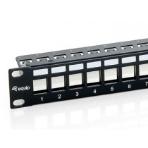 Patch panel 24p. modularni, keystone STP prazan 769124