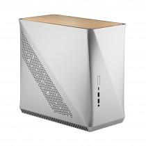Kućište Fractal Design Era ITX White Oak Silver, Srebrna, Mini ITX, 24mj (FD-CA-ERA-ITX-SI)