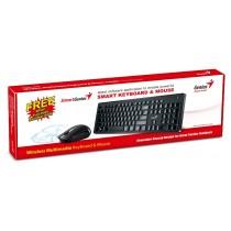 Tipkovnica Genius SlimStar 8006, USB wireless, crna, 24mj, (31340002409)