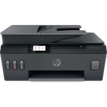 HP Smart Tank 530 Wireless AiO, print, scan, copy, ADF, tintni, color, A4, USB, WL, Bt, 4-bojni, crna, 12mj, (4SB24A)
