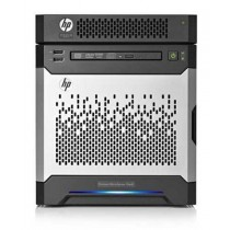"Server HP Proliant MicroServer Gen8, 819185-421, 1x Intel Celeron G1610T 0TB bez HDD 3.5"" LFF, Smart Array B120i, 4GB, LAN 2x, 1x 150W, Micro Tower, 12mj (12/0/0)"