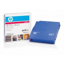 HP LTO-1, LTO-1 Ultrium 200 GB Data Cartridge, 100GB, (C7971A)