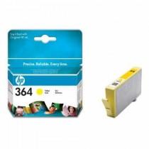 Tinta HP 364 CB320EE, žuta, yellow