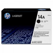 Toner HP 14A Black LaserJet Toner Cartridge (CF214A)