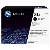 Toner HP 81A Black Original LaserJet Toner Cartridge (CF281A)