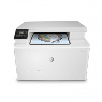 HP Color LaserJet Pro MFP M180n, T6B70A, print, scan, copy, laser, color, A4, USB, LAN, 4-bojni, bijela, 12mj
