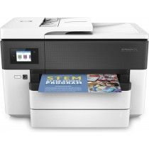 HP Officejet Pro 7730 Wide Format e-All-in-One Printer, Y0S19A, print, scan, copy, fax, ADF, duplex, tintni, color, A3, USB, LAN, WL, 4-bojni, crna, 12mj