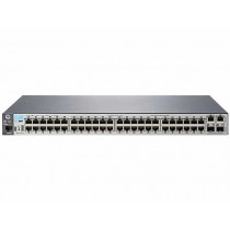Switch HP 2530-48, J9781A, Mixed 100Mb/1Gb, 48x, rack, managed, 48x 10/100, 2x GbE, 2x SFP, tamno siva