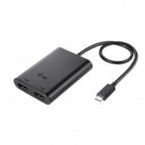 USB kabel na HDMI, USB-C dual HDMI Video Adapter 2x HDMI 4K compatible with Thunderbolt 3 (C31DUAL4KHDMI)