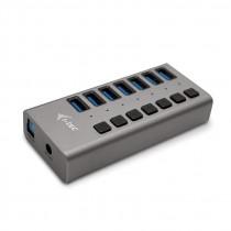 USB HUB USB 3.0 Charging HUB 7port with Power Adapter 36W 7x USB 3.0 charging port (U3CHARGEHUB7)