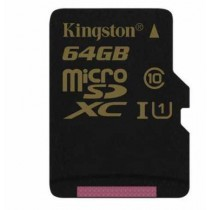 SD XC 64GB class 10/UHS-I, 90MB/s, micro SDXC, Kingston SDCA10/64GBSP