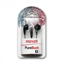 Slušalice Maxell Purebudz Black, crna, 12mj, (303986.00.CN)