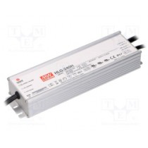 Napajanje AC-DC 240W, 230V -> 24V 10A, IP67, 84mj, Mean Well, (HLG-240H-24)