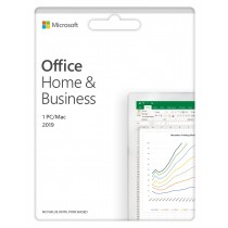 MS Office Home and Business 2019, EN, Retail, 1 Dev, Trajna, 32-bit, 64-bit, WIN, Download, T5D-03216