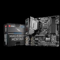 MB MSI MAG B365M Mortar, LGA 1151v2, micro ATX, 4x DDR4, Intel B365, HDMI, 36mj (7C67-001R)