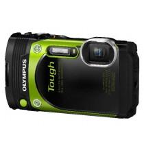 Olympus TG-870 Green, zelena, 16Mpx, 5x opt. 21-105mm f3.5-5.7 LCD, GPS, Podvodan 15m, Niske temp. -10oC, Pad s vis. 2.1m, 24mj, V104200EE000