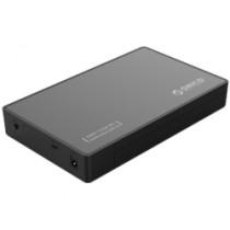 "Kućište USB Orico 3.5"" SATA HDD, tool free, USB Type-C, crno (3588C3-BK)"