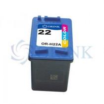 Tinta HP Orink 22XL DJ 3920/3940/PSC14410, boja