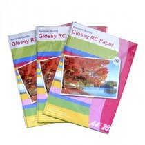 Papir Foto Glossy, Bijela, A4, 21cm x 29.7cm, 260g/m2, Sjajni, Orink P690260S/20, 20kom, Original