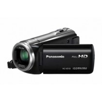 "Panasonic HC-V510E, srebrna, FullHD 50p, 50x opt. 28-1748mm, 3"" touch, foto 10Mpx, Power O.I.S., 12mj"